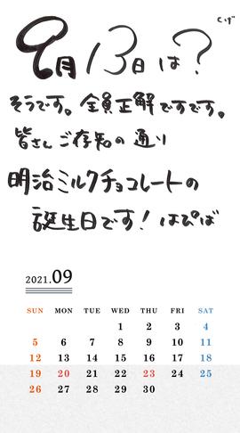 Calendar 2021.09 SP